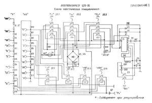 Тестер ц20 инструкция схема