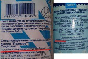 Е 536 пищевая добавка опасна или нет в сыре