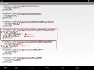 Нет разрешения для удаления файла на андроид