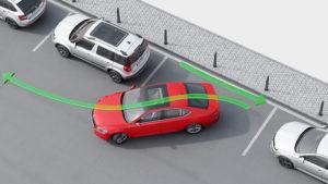 Диагональная парковка как сделать