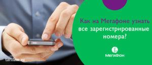 Как узнать сколько телефонов зарегистрировано на человека