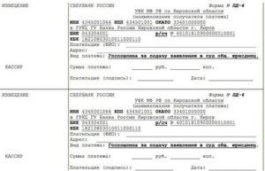 Реквизиты госпошлина апелляция ленинградский областной суд