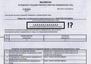 Номер регистрации в егрюл где посмотреть