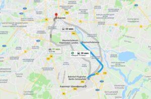 Как быстро доехать до берлина от аэропорта шенефельд