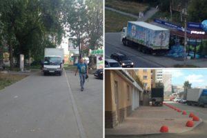 Можно ли заезжать на тротуар для разгрузки товара пдд 2020