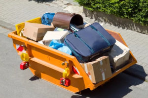 Куда выбрасывать крупногабаритный мусор в москве