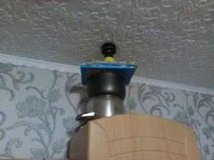 Виброколонка для соседей сверху натяжной потолок
