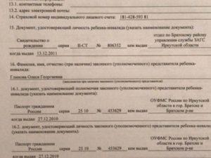 Документ подтверждающий полномочия законного представителя ребенка что это