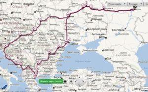 Как проехать из россии в молдову минуя украину на машине