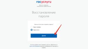 Восстановить пароль от госуслуг по снилсу