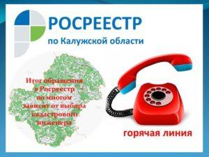 Телефон росреестра спб горячая
