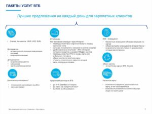 Втб 24 базовый пакет услуг стоимость