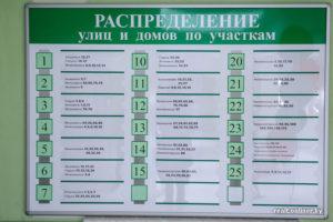 Как узнать участок в поликлинике по адресу воронеж