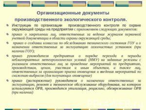 Образец приказа о назначении ответственного за соблюдением требований об охране окружающей среды