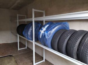 Можно ли хранить летнюю резину в гараже зимой