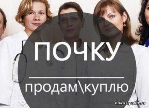 Донорство почки за деньги в москве стоимость