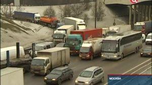 Ограничение движения грузовиков по мкад 2020