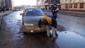 Какой штраф за грязные колеса