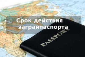 Срок действия загранпаспорта тунис