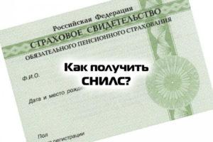 Какие документв нужным чтобы получить снилс в екатеринбурге кировский район