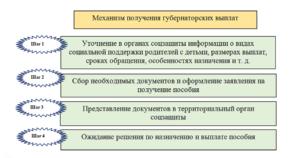 Какие документы нужны для оформления пособия губернаторского