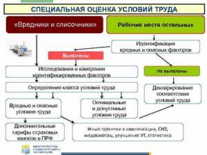Специальная оценка условий труда реферат