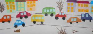 Рисование по теме транспорт пдд в старшей шруппе